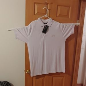 White Greg Norman XXL Golf Shirt